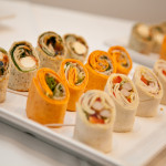 Catering, Mini Wraps,